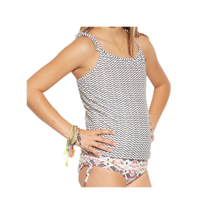 Billabong Gee Gee Geo Tankini Swimsuit - Little Girls'