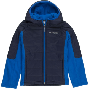 Columbia Fast Trek Hybrid Fleece Hooded Jacket - Boys'