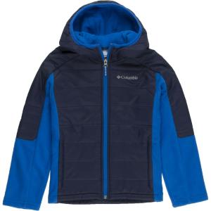 Columbia Fast Trek Hybrid Fleece Hooded Jacket - Boys'