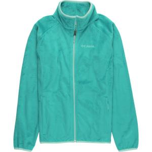 Columbia Pearl Plush Full-Zip Fleece Jacket - Girls'