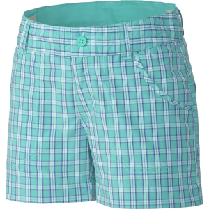 Columbia Silver Ridge III Plaid Short - Girls'