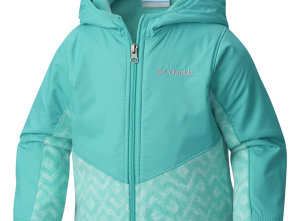 Columbia Steens Mountain Overlay Hooded Fleece Jacket - Toddler Girls'
