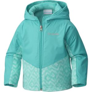 Columbia Steens Mountain Overlay Hooded Fleece Jacket - Toddler Girls'