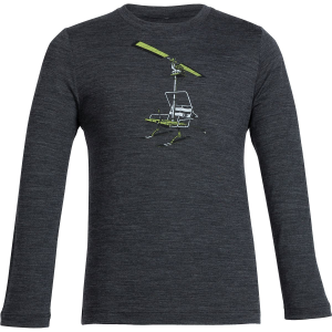 Icebreaker Tech Chair Lifter Crew Top - Long-Sleeve - Boys'