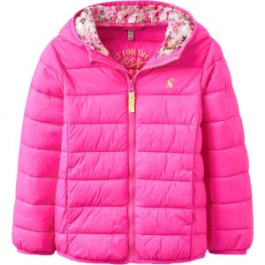 Joules Kinnaird Padded Pack Away Jacket - Girls'
