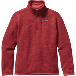 Patagonia Better Sweater 1/4-Zip Fleece Jacket - Boys'