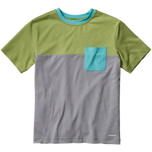Patagonia Capilene Daily Colorblock T-Shirt - Short-Sleeve - Boys'
