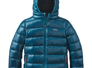 Patagonia Hi-Loft Down Sweater Hooded Jacket - Boys'