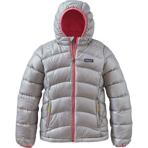 Patagonia Hi Loft Down Sweater Hooded Jacket Girls Montkid