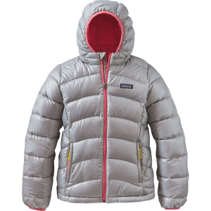 Patagonia Hi-Loft Down Sweater Hooded Jacket - Girls'