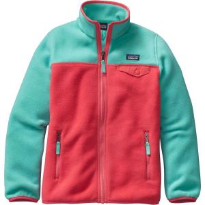 Patagonia Lightweight Synchilla Snap-T Fleece Jacket - Girls'