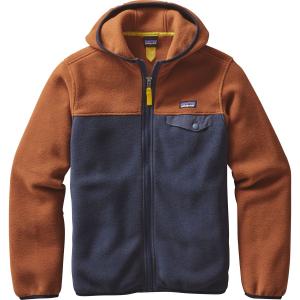 Patagonia Lightweight Synchilla Snap-T Hooded Fleece Jacket - Boys'