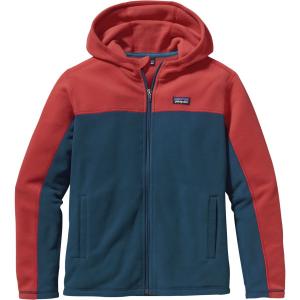 Patagonia Micro D Hooded Fleece Jacket - Boys'