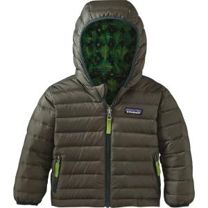 Patagonia Reversible Down Sweater Hoodie - Infant Boys'