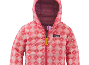 Patagonia Reversible Down Sweater Hoodie - Infant Girls'