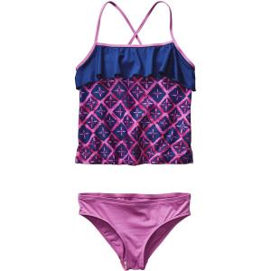 Patagonia Wavy Day Tankini Swimsuit - Girls'