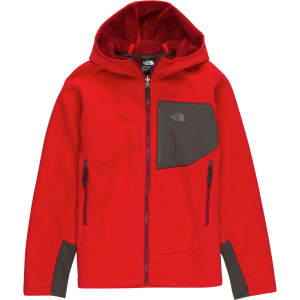 2dbcda8922f6 The North Face Chimborazo Fleece Hooded Jacket – Boys  – Montkid