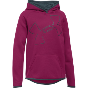 Under Armour Armour Fleece Big Logo Pullover Hoodie - Girls'