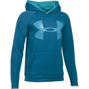 Under Armour Armour Fleece Storm Highlight Pullover Hoodie – Boys'