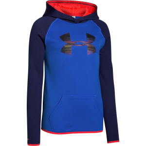 Under Armour ColdGear Big Logo Pullover Hoodie - Girls'