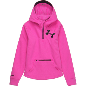 Under Armour ColdGear Infrared Dobson Hooded Softshell Pullover - Girls'