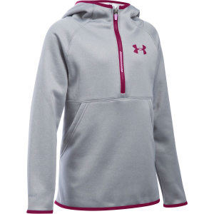 Under Armour Storm Armour Fleece 1/2-Zip Pullover Hoodie - Girls'