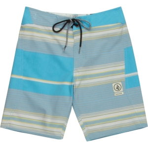 Volcom Alton Stripe Slinger Board Short - Boys'